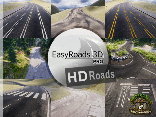 EasyRoads3D Pro Add On - HD Roads