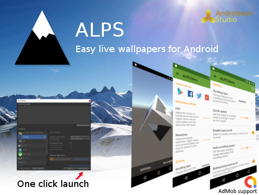 ALPS - Easy live wallpapers for Android - Asset Store
