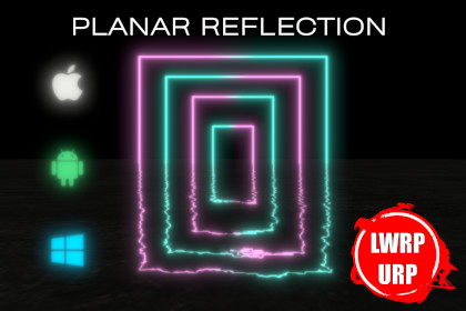 Fast Mobile Planar Reflection ( LWRP , URP )