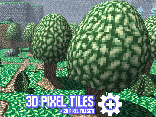 3D Pixel Tiles