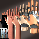 Animated Hands with Gloves