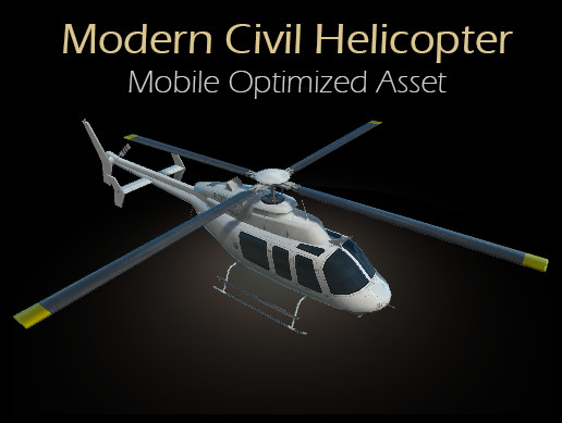 Modern Civil Helicopter
