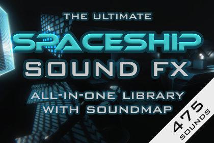 Spaceship interior sound effects all-in-one FX sound pack