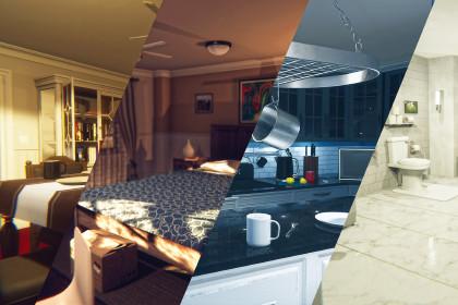 HQ Mega Home Interior Pack Vol.1