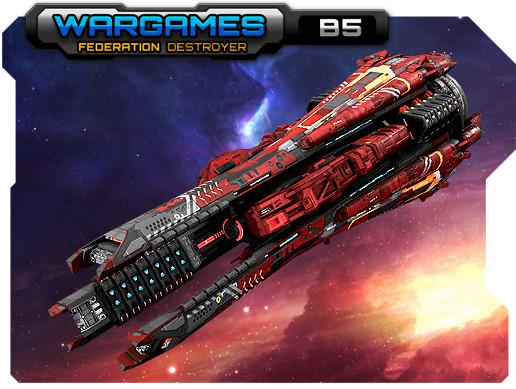 Federation Destroyer B5