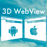 3D WebView for Android and iOS (Web Browser)