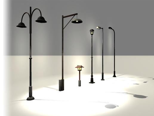 Street Lamp Physics Set