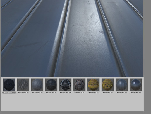 Metal Panels Pack vol 1