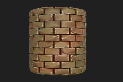 Stylized Bricks Materials
