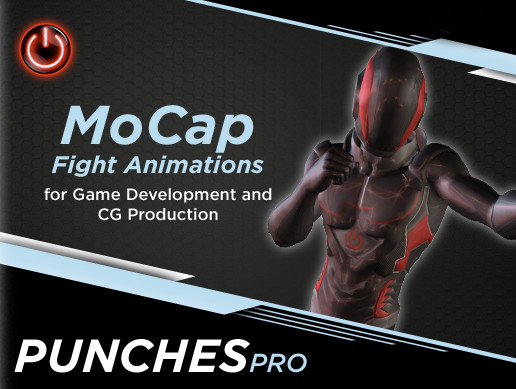 PUNCH PRO: MoCap Animation Pack