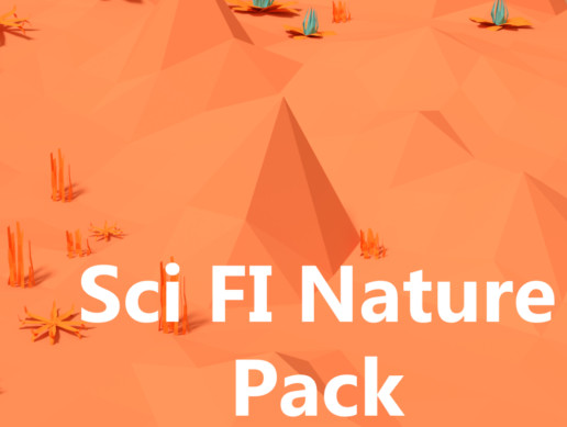 The Low-Poly Sci Fi Nature Pack