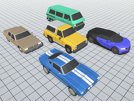 Stylized Vehicles Pack - FREE