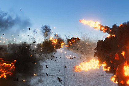 3D Fire and Explosions