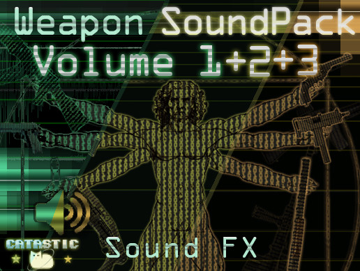 Weapon Sound Pack - Volume 1 + 2 + 3