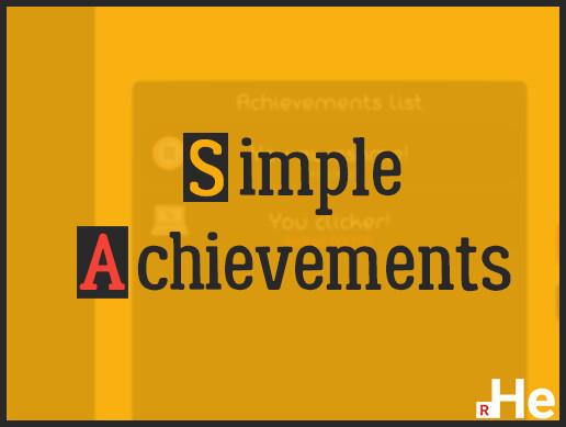 Simple Achievements