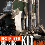 Destroyed Building Kit - Demo