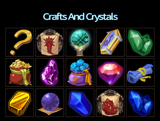 Crafts And Crystals