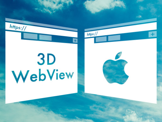 3D WebView for iOS