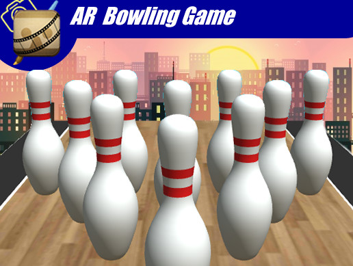 AR Bowling with Score Board