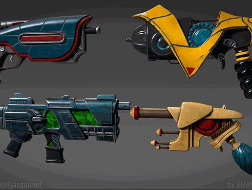 SCI-FI Alien Weapons
