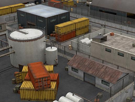 Industrial Area Scene - Pack