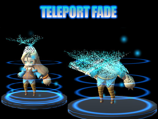 Teleport Fade Shader - Asset Store