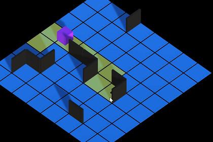 Simple Grid Pathfinding