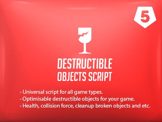 Destructible objects script