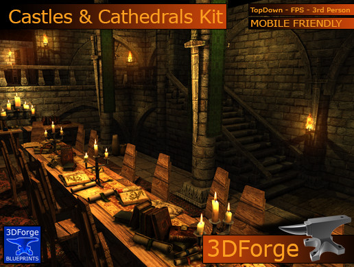 Castles & Cathedrals Interiors Kit