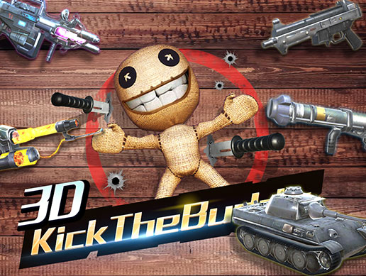 Kick The Buddy 3D Shooter FPS Game with gun tank Complete Project Starter Kit Pack for Mobile