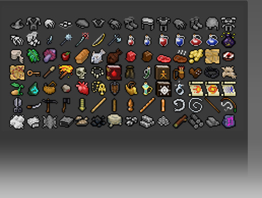 2D RPG Inventory Item Sprites - Asset Store