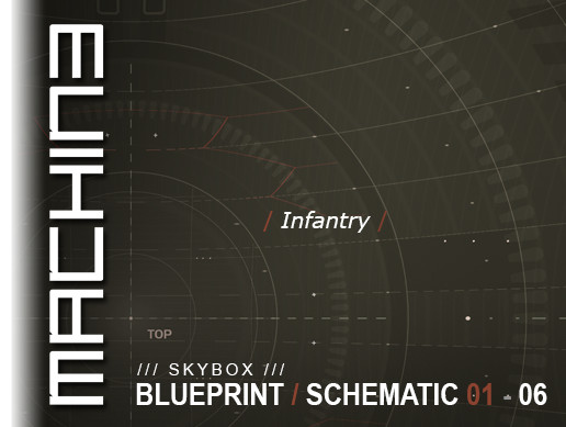 Blueprint / Schematic - Skybox 01 - 06 Infantry
