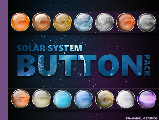Solar System Button Pack
