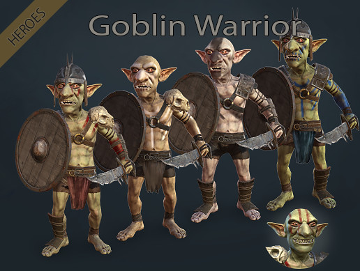 Heroes - Goblin Warrior
