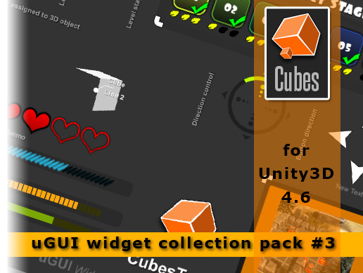 uGUI Widgets Collection vol 3.