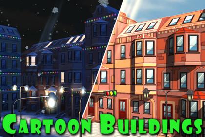 Cartoon Buildings Constructor