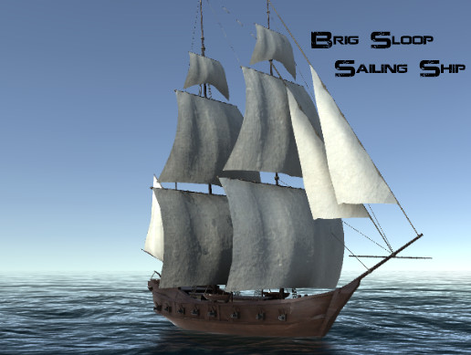 Brig Sloop Sailing Ship
