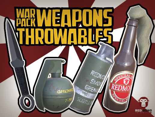 War Pack Weapons Throwables HD
