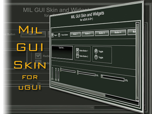 MilGUISkin for uGui (4.6+)