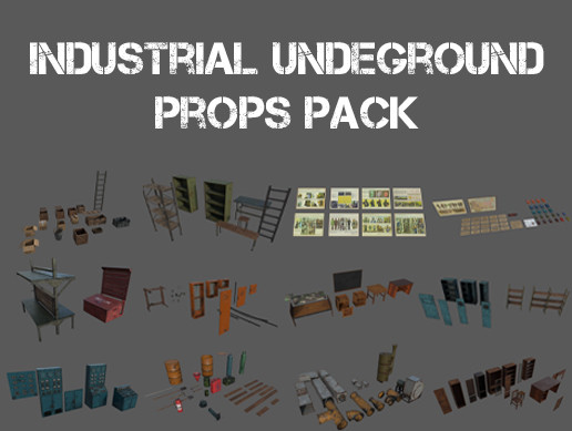 Industrial Undeground Props Pack