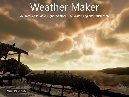 Weather Maker - Sky, Unity Weather System, Water, Volumetric Clouds and Light