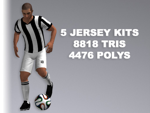 Soccer Player 8818 Tris