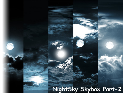 Night Sky Skybox Part-2