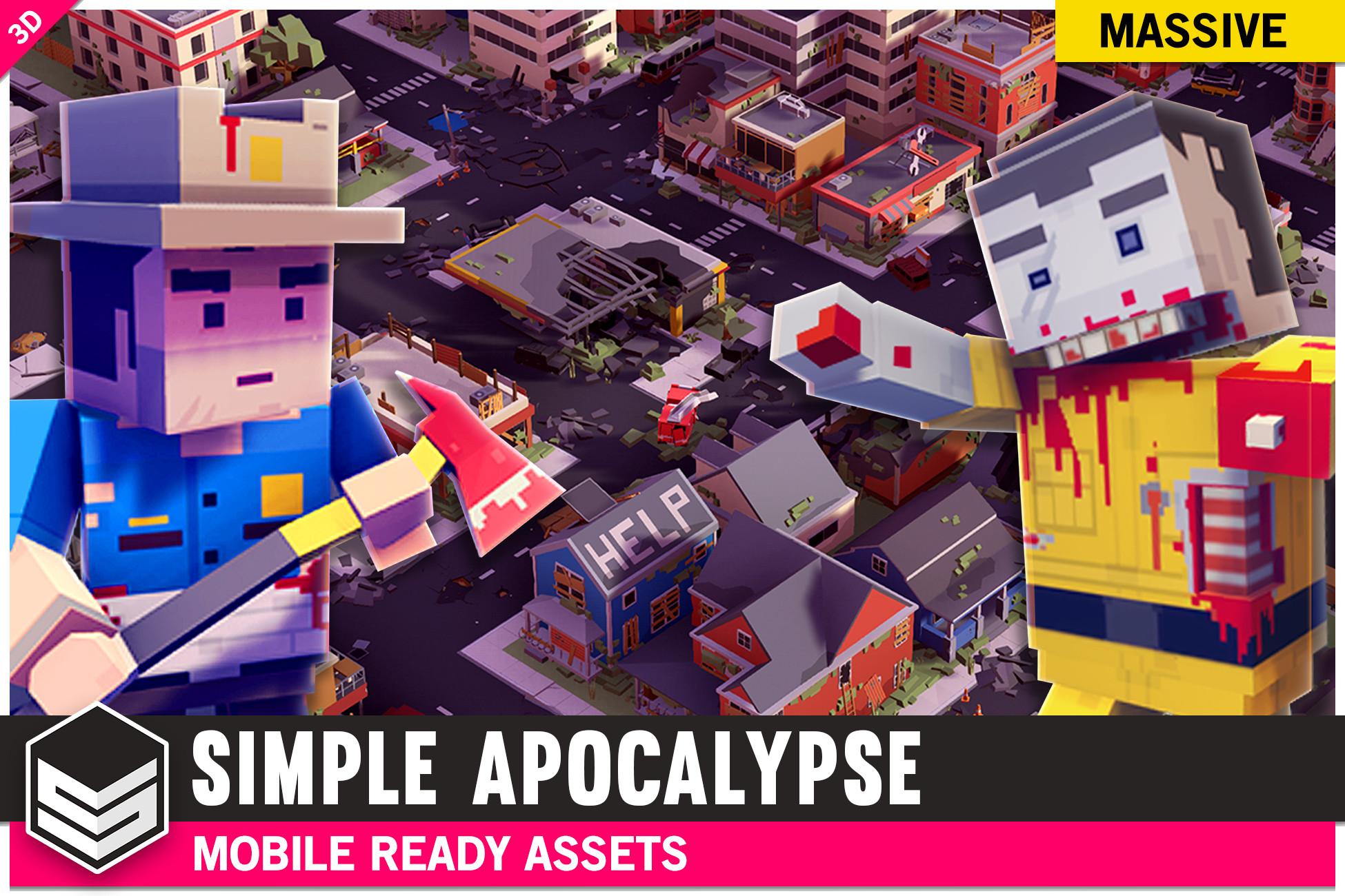 Simple Apocalypse - Cartoon Assets