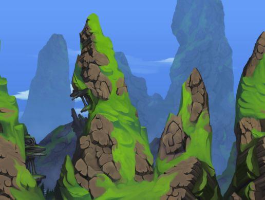 Parallax Mountains Collection