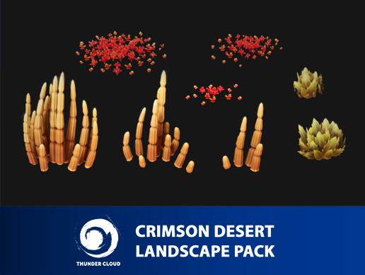 Crimson Desert Landscape Cactus pack