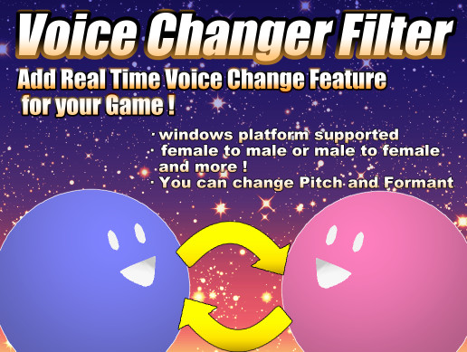 Voice Changer Filter