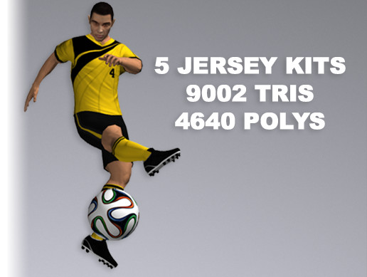 Soccer Player 9002 Tris
