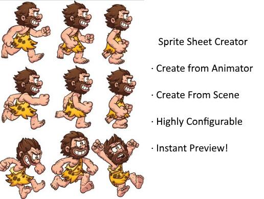 Sprite Sheet Creator - Asset Store