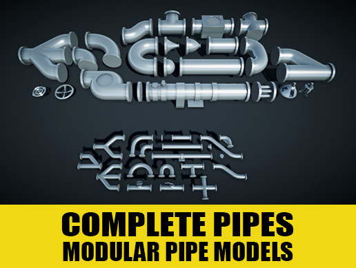 Complete Pipes Modular Set